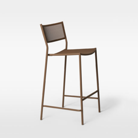 Jig Mesh Bar Stool