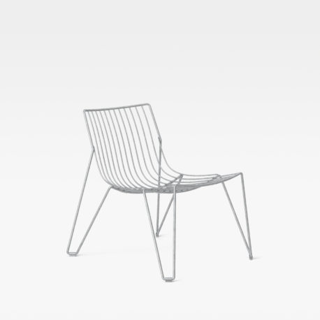 Tio Easy Chair Galvanized