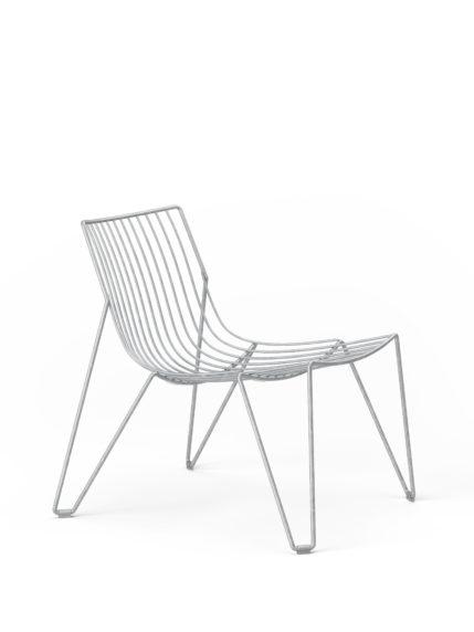 Tio Easy Chair Galvanised