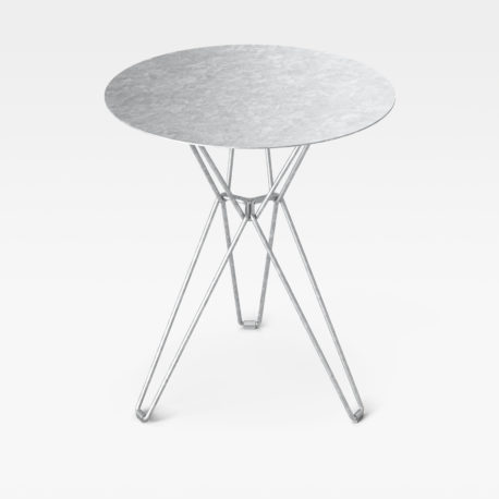 Tio Dining Table - Galvanized