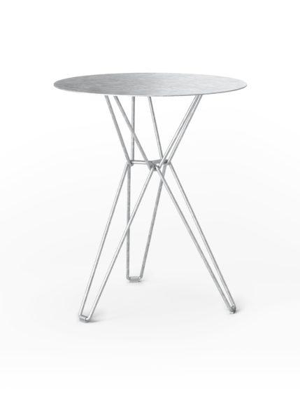 Tio Bar Table Galvanised