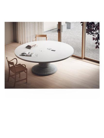 Colossus Massproductions Print White Laminate Round