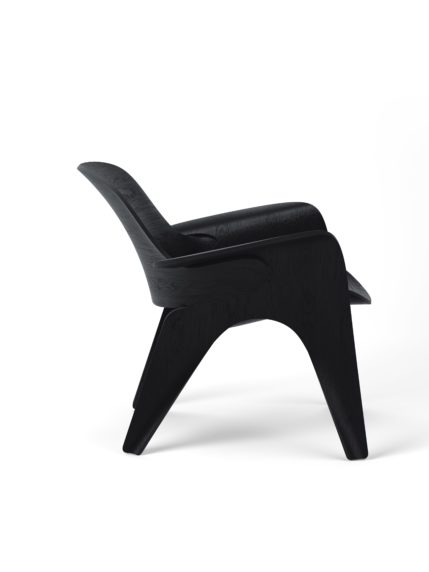 Rose Chair Black Stained Oak