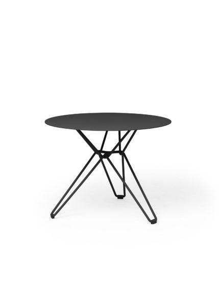 Tio Dining Table D 60 Black