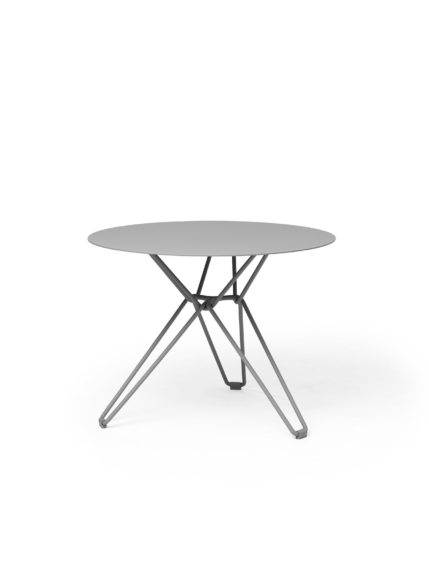 Tio Dining Table D 60 Stone Grey
