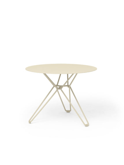 Tio Dining Table D 60 Ivory
