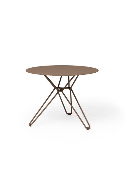 Tio Dining Table D 60 Pale Brown
