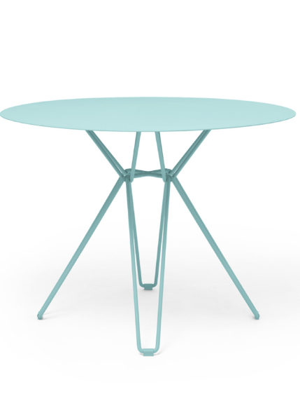 Tio Dining Table D 100 Pastel Turquoise