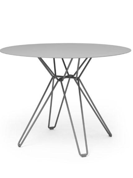 Tio Dining Table D 100 Stone Grey
