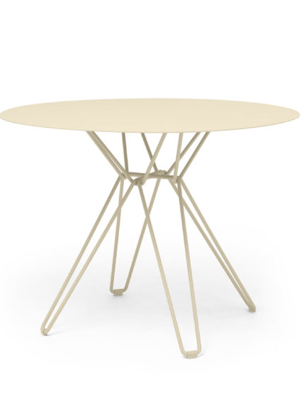 Tio Dining Table D 100 Ivory