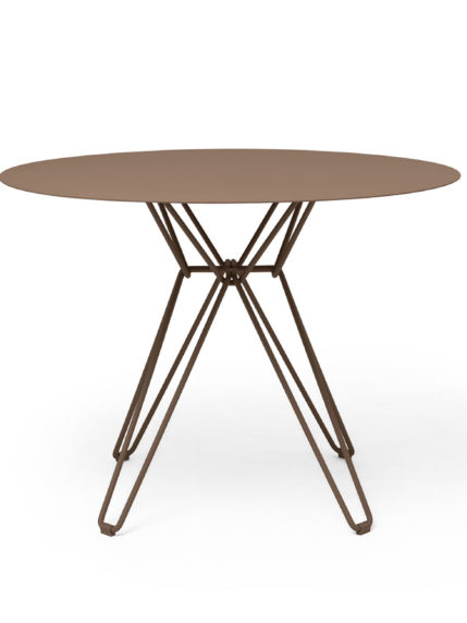 Tio Dining Table D 100 Pale Brown