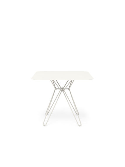 Tio Dining Table 85×85 White
