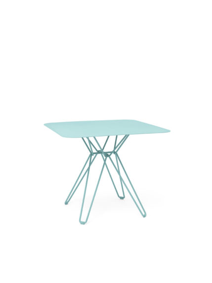 Tio Dining Table 85×85 Pastel Turquoise