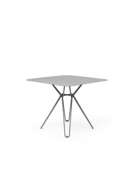Tio Dining Table 85×85 Stone Grey