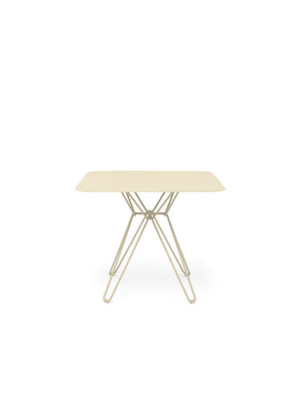 Tio Dining Table 85×85 Ivory