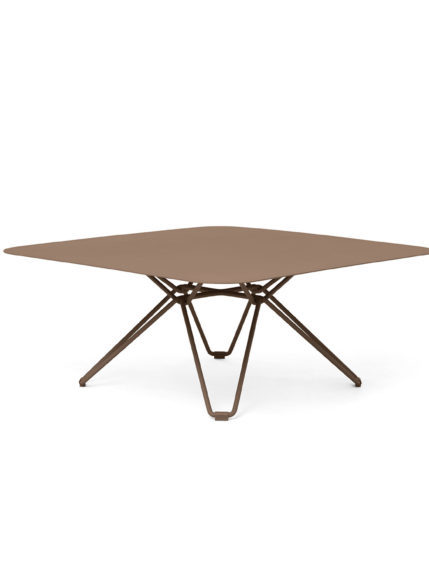 Tio Coffe Table 85×85 Pale Brown