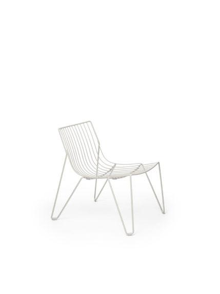 Tio Easy Chair White
