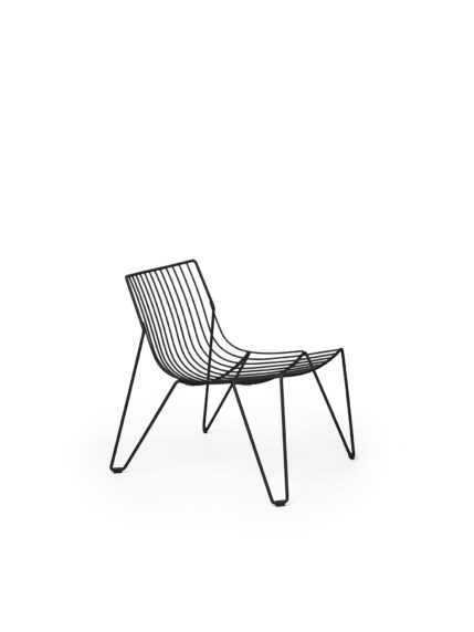 Tio Easy Chair Black