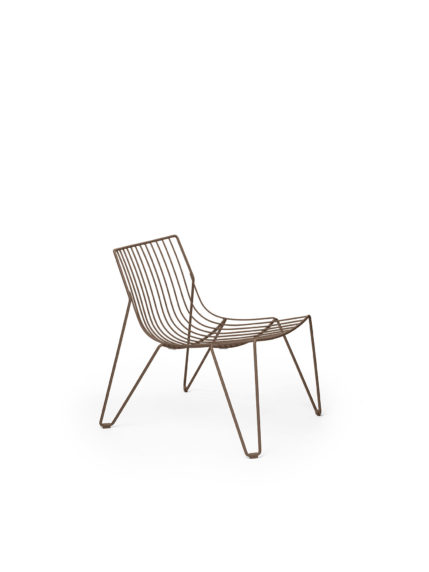 Tio Easy Chair Pale Brown