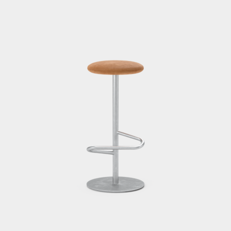 Odette Stool Hot Dip Galvanized