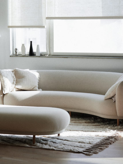 A Dandy 4 Seater and Ottoman