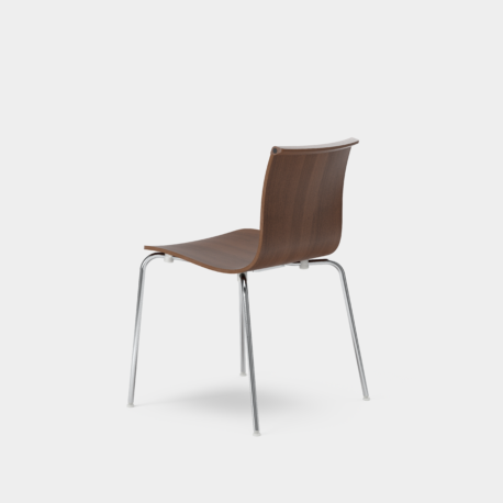 Serif Chair - Tube Legs
