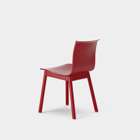 Serif Chair - Wooden Base