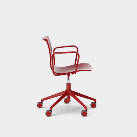 Serif Chair - 5 Star Base With Armrests