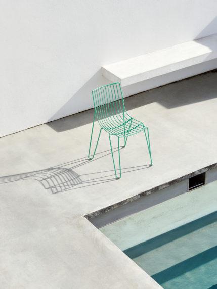 Oilcloth Green – Tio Chair
